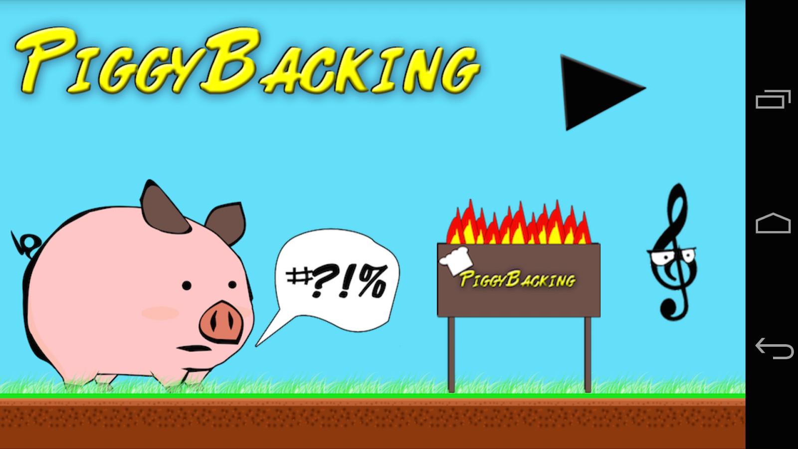Piggy - Run Pig Run - screenshot