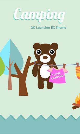 Campingbeer GO LAUNCHER THEME