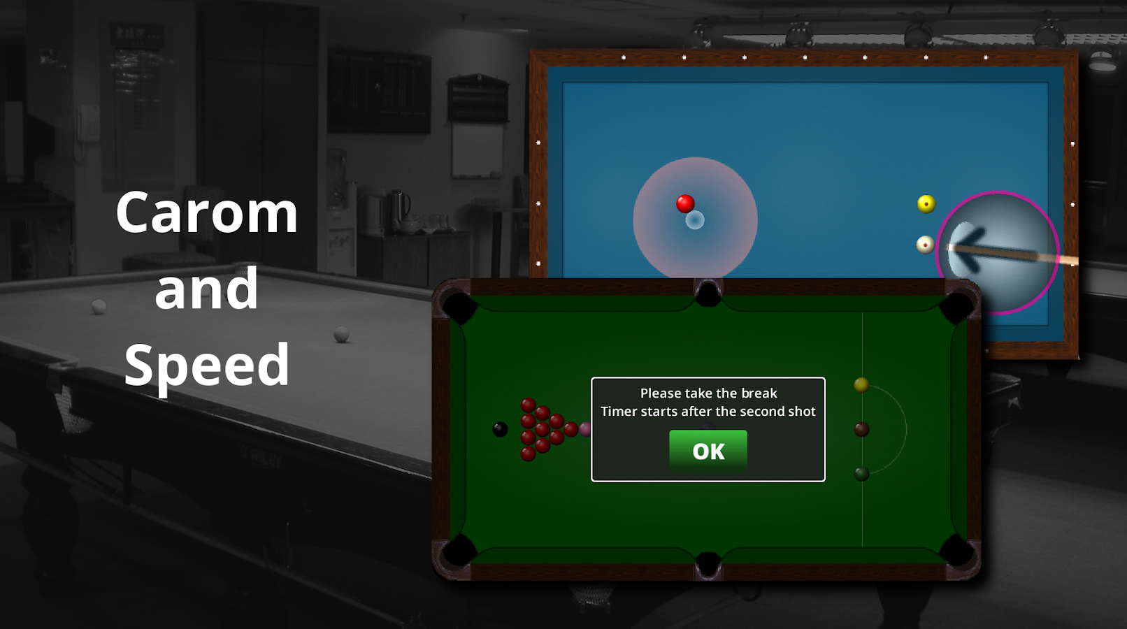 Funky Snooker - screenshot