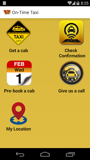 On-Time Taxi
