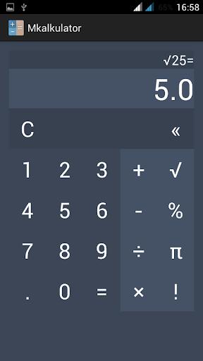 Kalkulator Lollipop Style