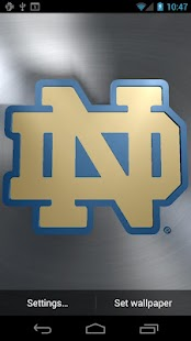 Notre Dame Irish Live WPs- screenshot thumbnail