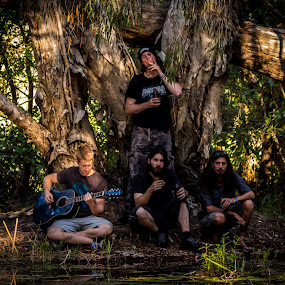 Ghostsof Black River by Brad Uhlmann - People Musicians & Entertainers