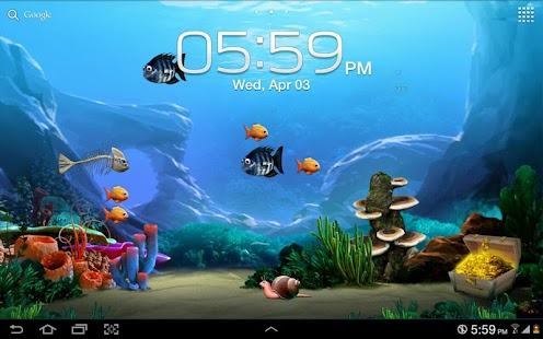 Tap a Fish Live Wallpaper Free - screenshot thumbnail
