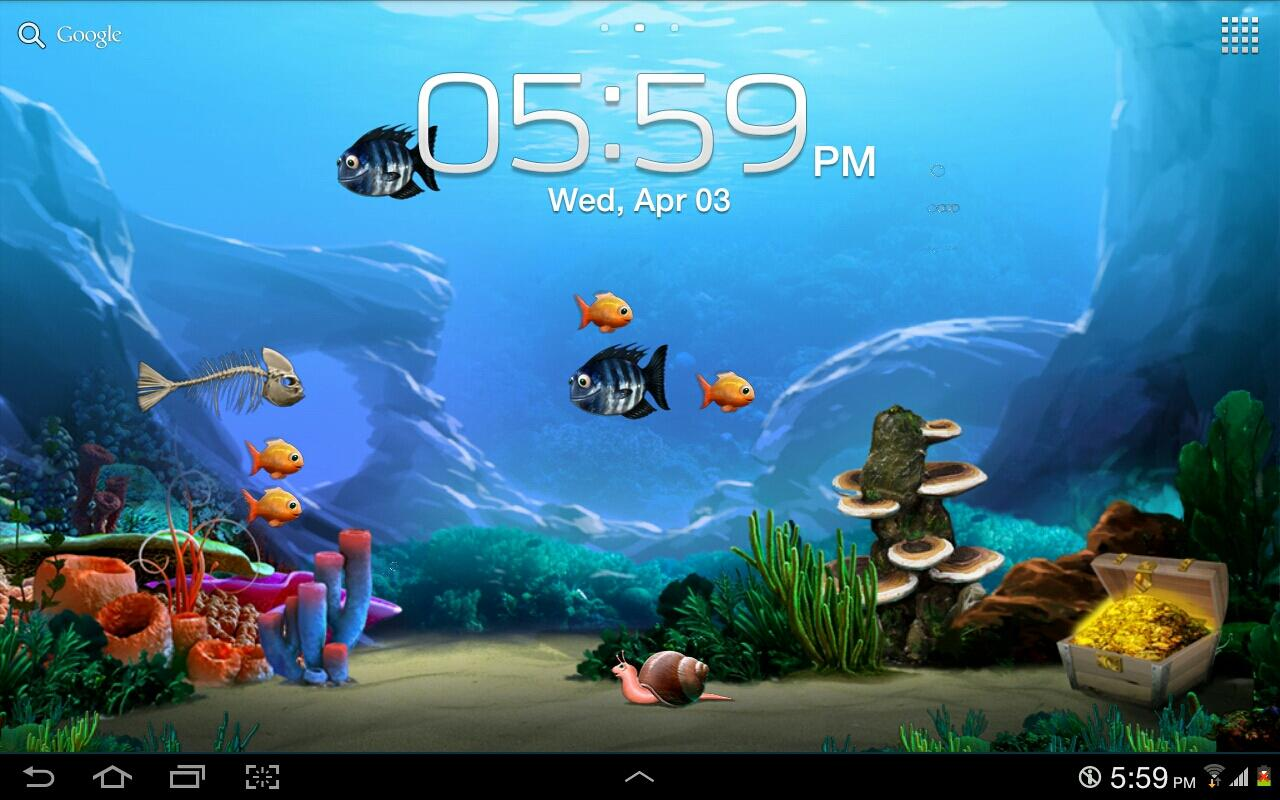 Tap a Fish Live Wallpaper Free - screenshot