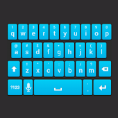 Galaxy ICS Keyboard Skin