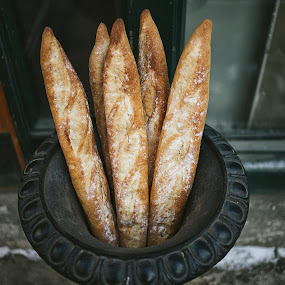 Daily Bread by Andrew Ng - Food & Drink Cooking & Baking ( freshly baked, artisan bread, bakery, bread, edmonton, downtown, baguette )