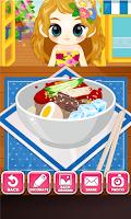 Screenshot of Judy's Ice Noodles Maker-Cook