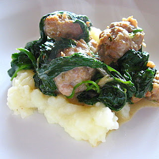 Spinach and Sausage Surprise