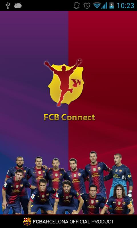 FCB Connect - FC Barcelona - screenshot