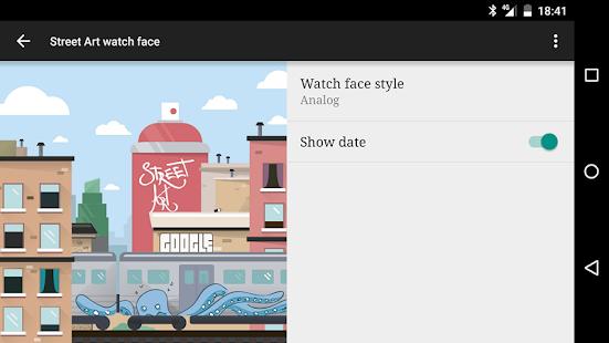 Street Art watch face Screenshot 5