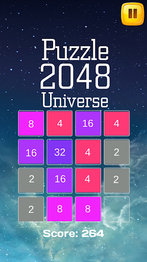 Puzzle 2048 Universe
