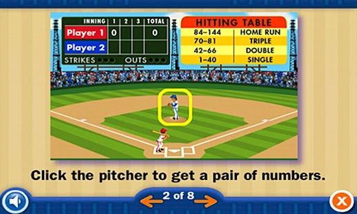 Everyday Math BaseballMult1-12 - screenshot thumbnail