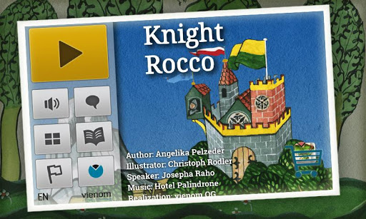 Knight Rocco Kids Book