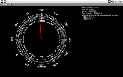 Barometer HD- screenshot thumbnail