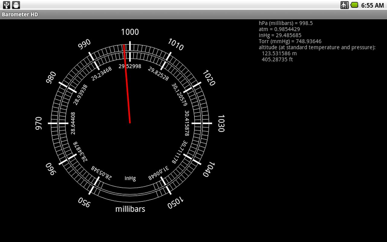 Barometer HD- screenshot
