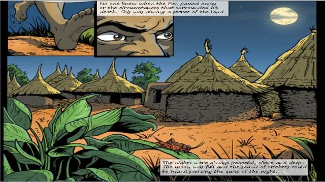 African eComics Marketplace - screenshot