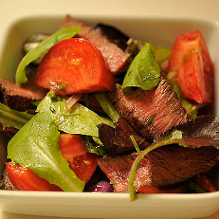 Asian Inspired Beef Salad Recipe