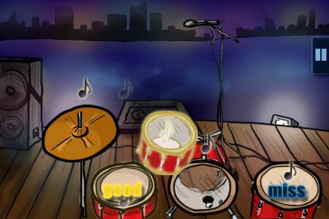 街機必備免費app推薦|Hit the Drums (ドラム)線上免付費app下載|3C達人阿輝的APP