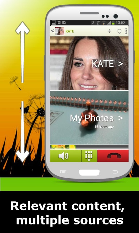 TalkSide Full Screen Caller ID - screenshot