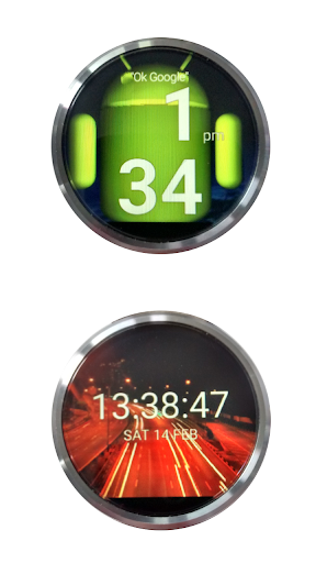 OpenGL Watch Faces