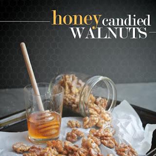 Honey Candied Walnuts.