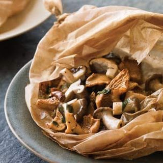 Mushrooms en Papillote