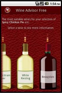 Wino the Wine Advisor (Free)– Vignette de la capture d'écran