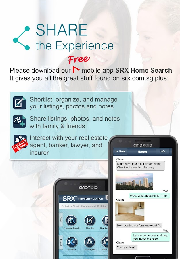 SRX Home Search- screenshot