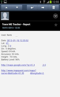 Rescue Trace Me oGTS Tracker - screenshot thumbnail