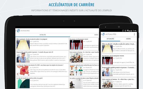Cadremploi: offre emploi cadre - screenshot thumbnail