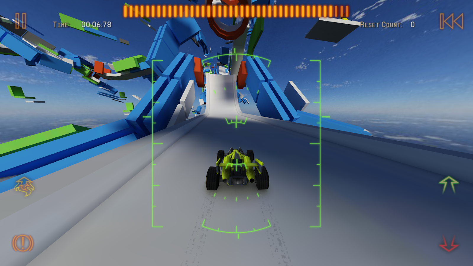 Jet Car Stunts 2- screenshot
