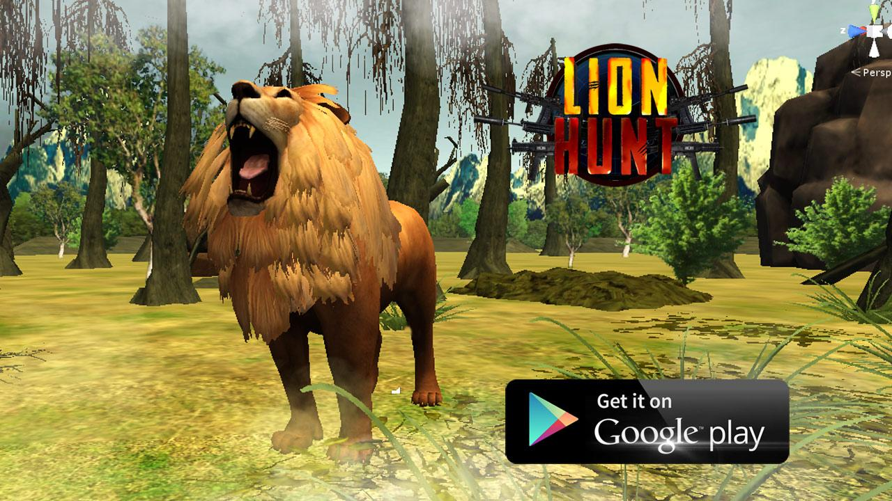 Lion Hunt 3D - screenshot