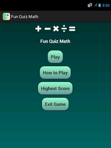 Fun Quiz Math