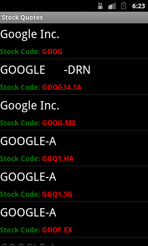 Stock Quotes  Android Apps on Google Play