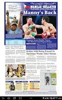 Screenshot of Manila Bulletin