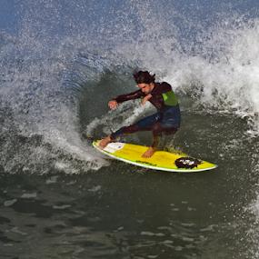 Snapback by Gavin Falck - Sports & Fitness Surfing ( ocean., surfing, waves, sport, beach )