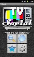 Screenshot of TVSocial Demo