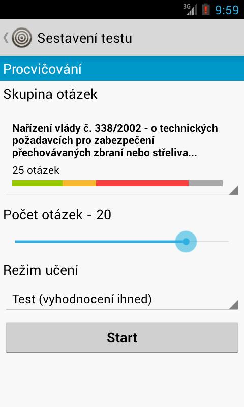 Zbrojní průkaz- screenshot