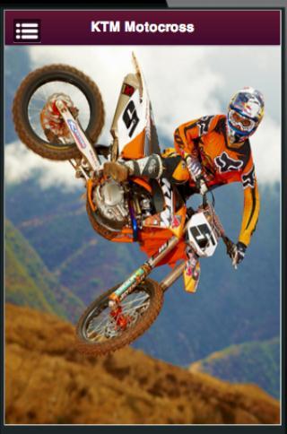 ktm motocross owners screenshot