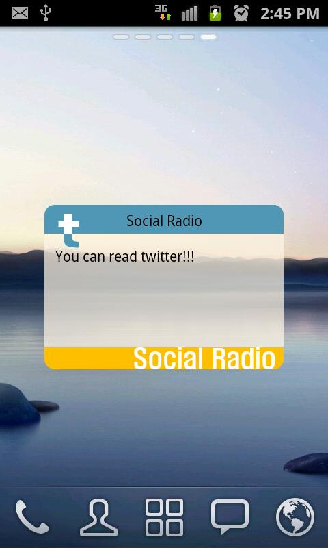 Social Radio - Pro - screenshot