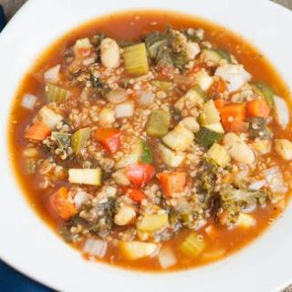 Slow-Cooker Vegetable Quinoa Soup.