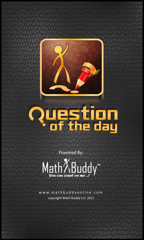 Question of the day- screenshot