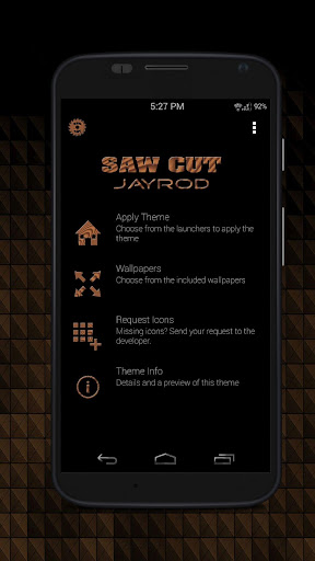 Sawcut_Round - Icon Pack