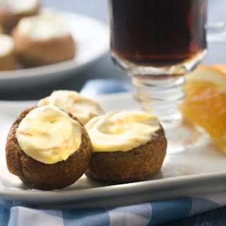 Gluten Free Cinnamon Rolls with Orange Cream Cheese Frosting