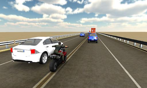 Highway Traffic Moto Racer 3D