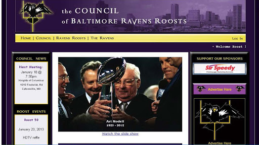 Council Baltimore Ravens Roost