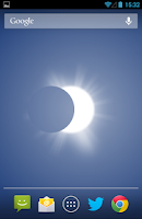 Screenshot of Solar Eclipse Live Wallpaper