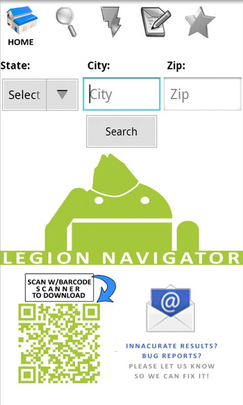 American Legion Navigator- screenshot