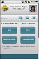 Screenshot of TMC CourtWatch